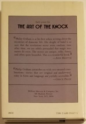THE ART OF THE KNOCK.
